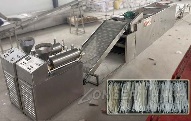 Korean Starch Noodles Maker Machine Supplier