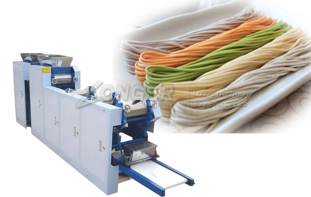 Vegetable Noodle Making Machine Process