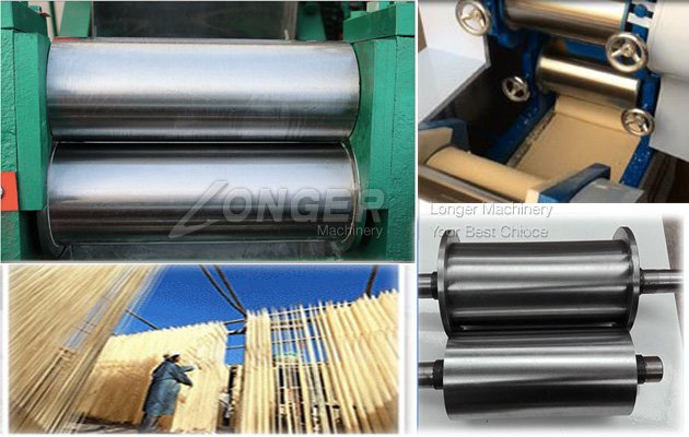 Automatic noodle machine roller