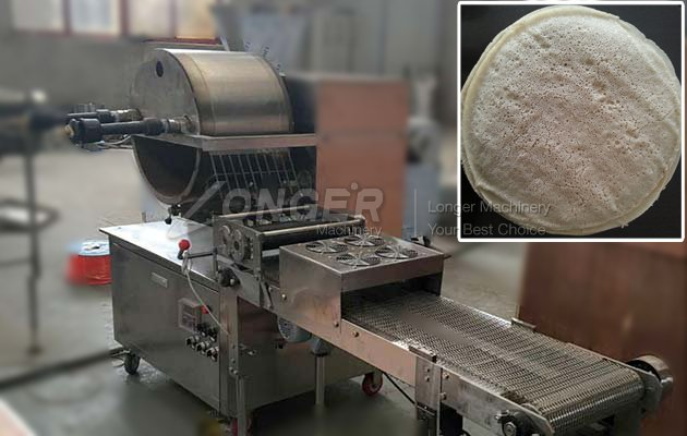 Injera making machine