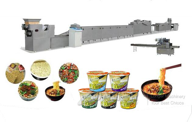 Drum Instant Noodle Production Line