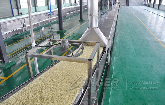 non-fried instant noodles production line