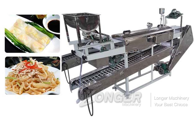 Vegetable Rice Noodle Maker Machine Manufacturer in China